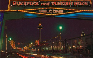 The Pleasure Beach by night. Photo: John Hinde Archive (Copyright)