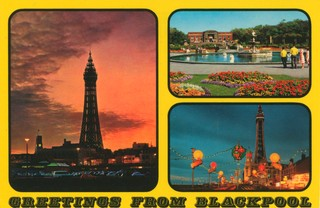'Greetings from Blackpool'. Photo: John Hinde Archive (Copyright)