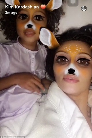 Kim Kardashian really is the Snapchat queen seen