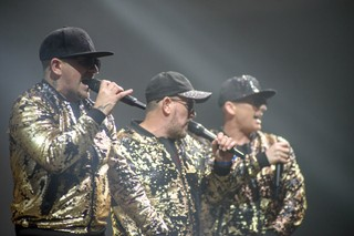 East 17 performing in Coventry in 2018
