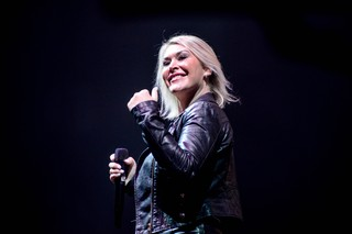 Jo from S Club performing in Coventry in 2018