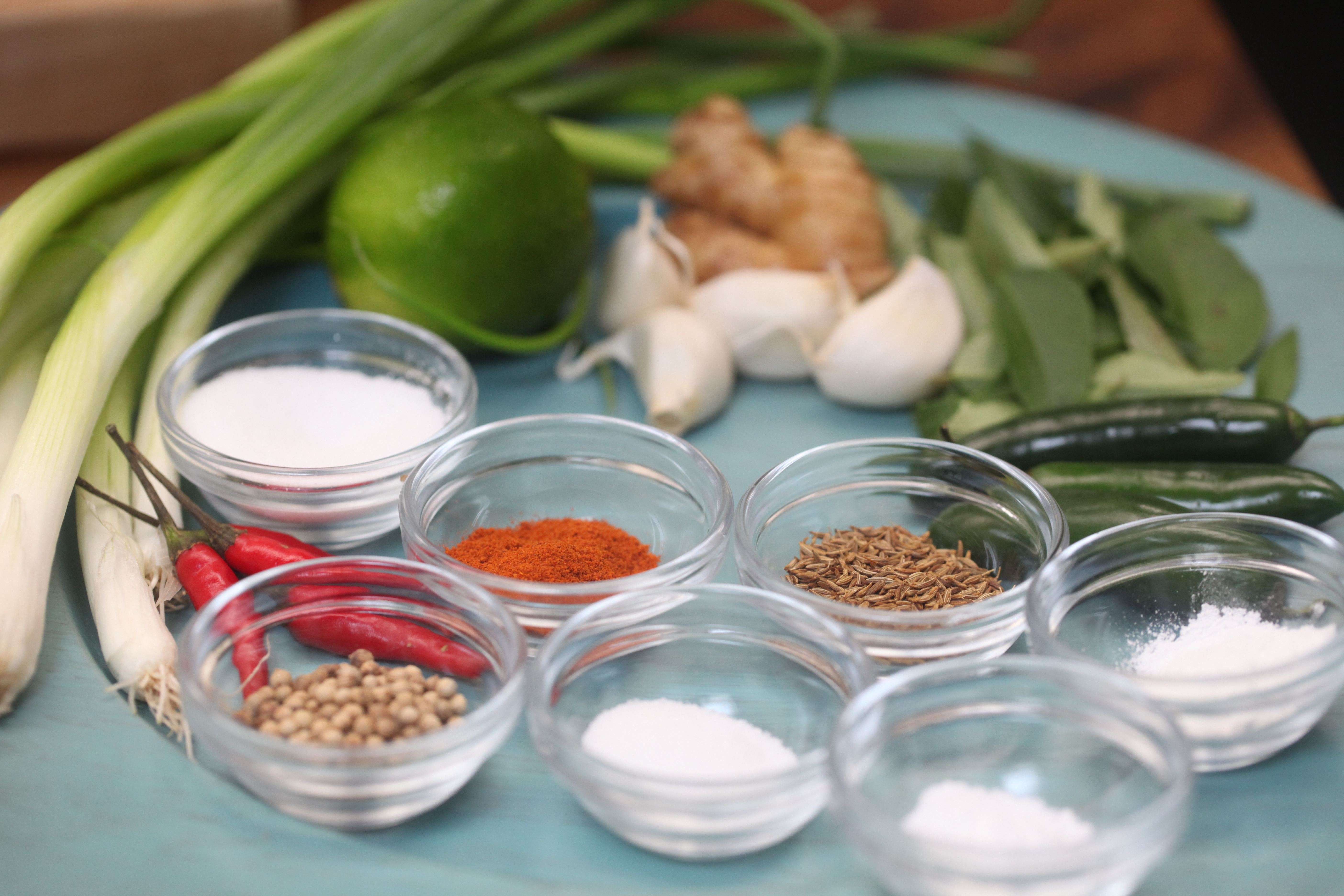 Spices and other ingredients