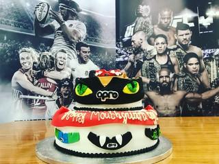 mouthguard cake
