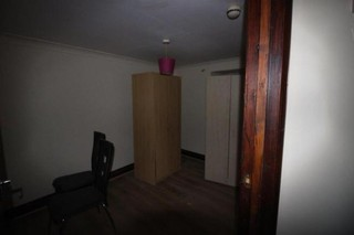 A bad flat in Homerton! With some wacky wardrobes!