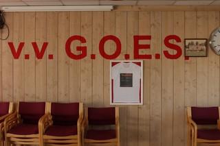 De kantine van VV Goes.