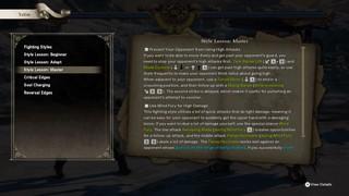 Soulcalibur VI text