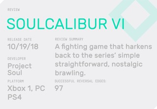Soulcalibur VI' is a Return to Fighting Form - VICE