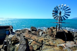 Poole Island windmill