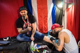 picior la tatuat