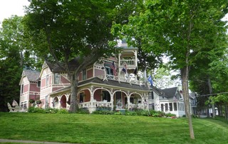 A stately house in Bay View, Michigan