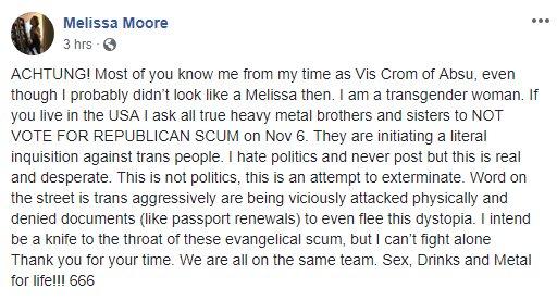 Melissa Moore / FB