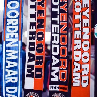 Feyenoord-sjaals.