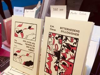 Bog af Stig Sæterbakken og bog af E.M. Cioran