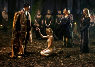The dark baptism from The Chilling Adventures of Sabrina