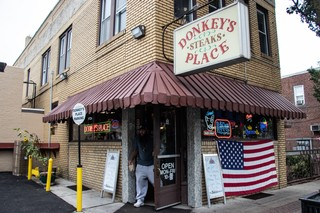 Exterior of Donkey's Place