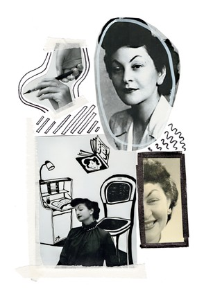 Collage of Doria Shafik