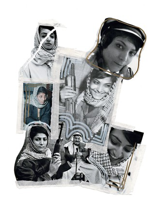 Leila Khaled collage