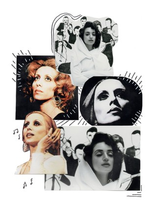 Fairouz collage