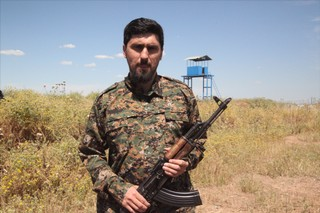 Amir Taaki in the YPG