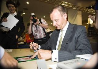 Friedrich Merz auf der Frankfurter Buchmesse