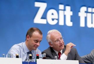 Friedrich Merz und Edmund Stoiber