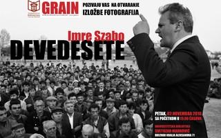 plakat izložbe Imreta Saba