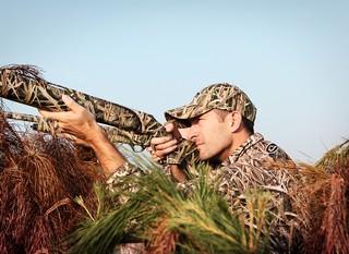 Brian Lynn shooting as a hunter.