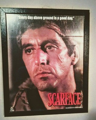 Every day in scarface