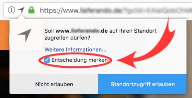 Screenshot von Firefox