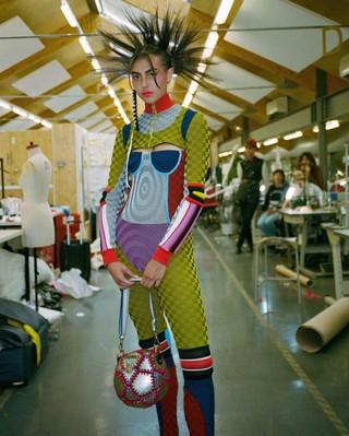 CSM Fashion graduate Paolina Russo