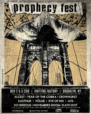 Prophecy Festival 2018 poster