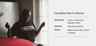 Geraldine Harris-Harreo
