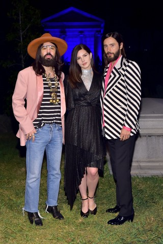 Alessandro Michele, Lana del Rey, and Jared Leto.