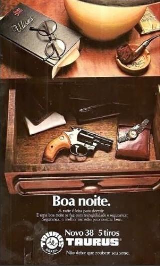Publicidade Taurus, anos 70
