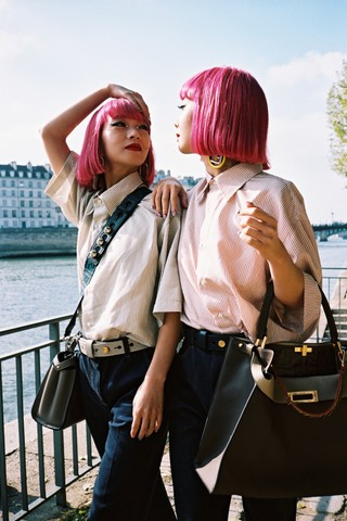 Ami and Aya for Fendi