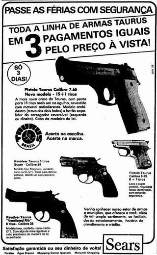 Publicidade Sears, 1985