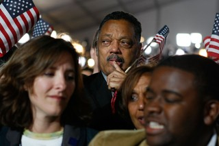 Jesse Jackson on Obama Election Night