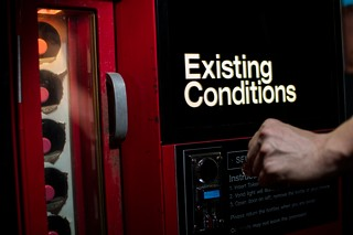 Existing Conditions cocktail vending machine