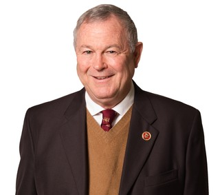 Dana Rohrabacher's official portrait