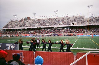 Cheerleaders Alouettes