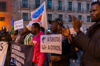 manifestación racista Madrid