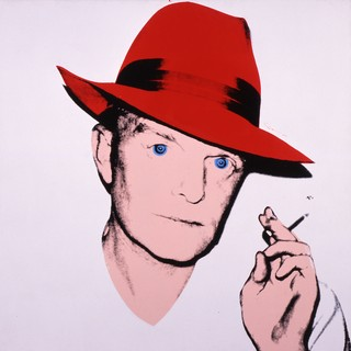 Andy Warhol (1928–1987), Truman Capote, 1979. Acrylic and silkscreen ink on linen, 40 × 40 in. (101.6 × 101.6 cm). The Andy Warhol Museum, Pittsburgh; Founding Collection, contribution Dia Center for the Arts 1997.1.11b © The Andy Warhol Foundation for the Visual Arts, Inc. / Artists Rights Society (ARS) New York
