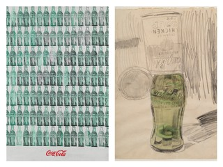 Andy Warhol (1928-1987), Green Coca-Cola Bottles, 1962.