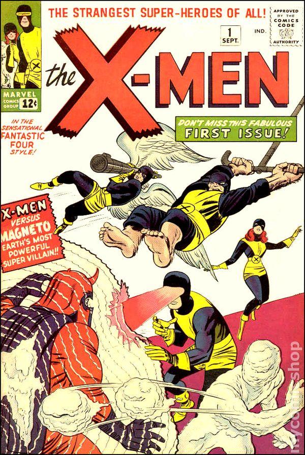 غلاف العدد الأول من سلسلة X-men