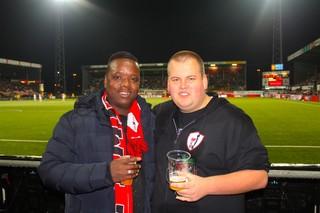 Orlando met Niels, lid van Brigata Fanatico.