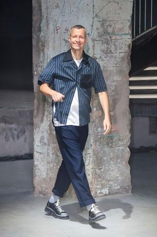 Lanvin menswear catwalk finale – Lucas Ossendrijver is leaving Lanvin