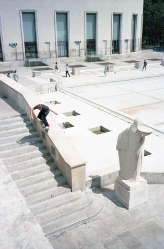 Skater au Palais de Tokyo