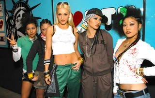 Gwen Stefani with Harajuku girls