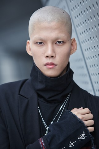 South Korean male model