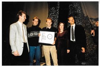 Foto des Anno-Teams auf einer Award Show
